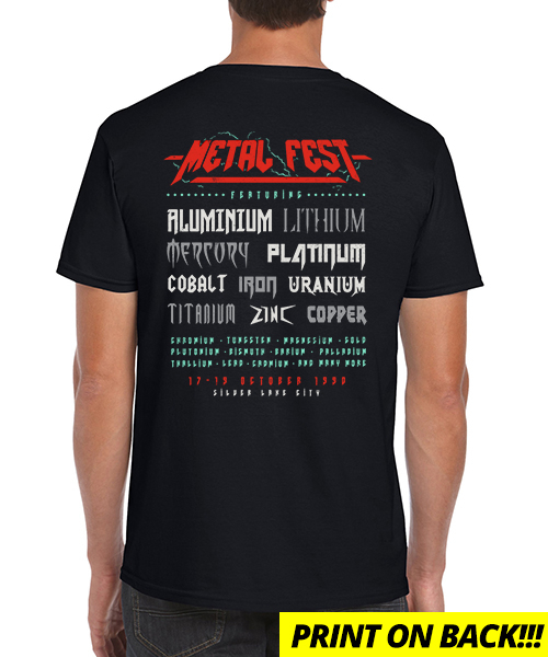 T-shirt Metal Fest